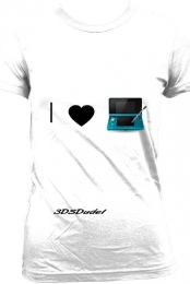 I Love 3DS shirt!