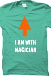 I am with magician