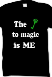 I am the key to magic