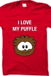 I LOVE MY PUFFLE - Mens T-Shirt