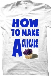 How To Make a Cupcake Shirt
