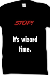 its wizard time
