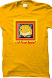 roll time lapse! raeart t-shirt