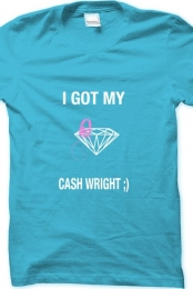 Men- I Got My Cash Wright Tee