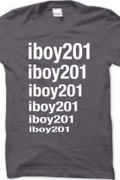 Gray iboy201 Shirt