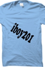 Baby Blue iboy201 Shirt