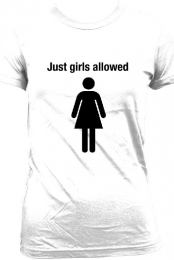 Just girls allowed