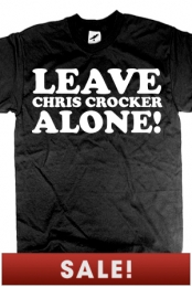 Leave Chris Crocker Alone (Black)