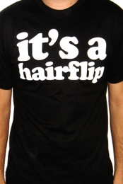 It's a Hairflip (Black)