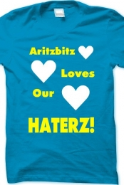 Aritzbitz loves haterz!
