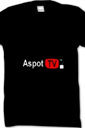 Aspot TV Logo (Black)