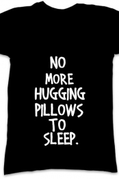 No More Hugging Pillows to Sleep