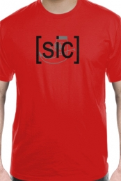 Sic Comics Logo Tee (Red)