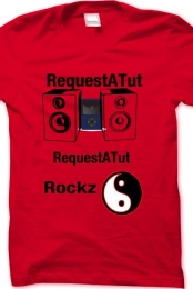 RequestATut 1st Shirt Created