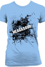 Cracked Meagasaur Shirt Womens