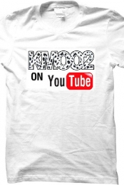 White Kmoo2 on YouTube T-Shirt