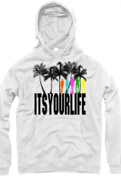 Itsyourlife (white hoodie)