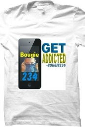 bougie234 get addicted teeshirt