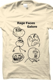 Rage faces galore