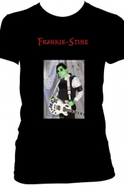''Frankie-Stine'' Black Tee Women