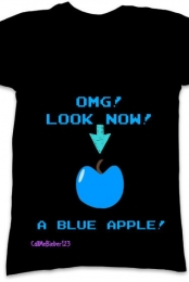OMG BLUE APPLE