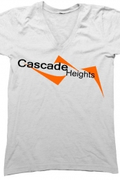 Cascade Heights V-Neck T-Shirt