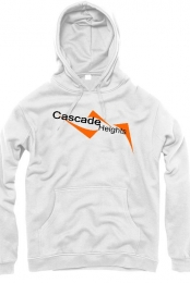 Cascade Heights White Pullover Hoodie