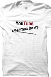 Lamenting Enemy Men's White T-Shirt