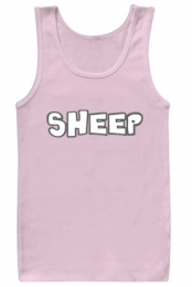 Sheep Tank (Light Pink)