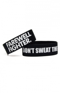 Don't Sweat the Rain Wristband (Black)