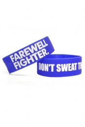 Don't Sweat the Rain Wristband (Blue)