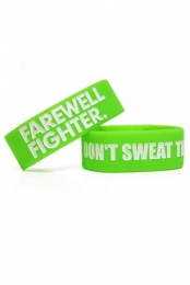 Don't Sweat the Rain Wristband (Green)