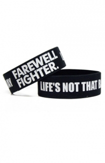 Life's Not that Bad Today Wristband (Black)