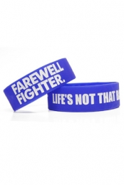 Lifes Not that Bad Today Wristband (Blue)