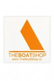 The Boat Shop Logo Sticker
