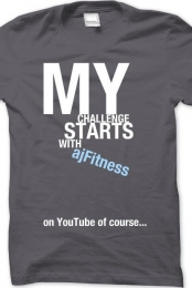 My Challenge Starts with ajFitness
