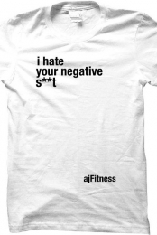 i hate your negative...