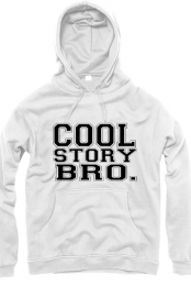 White Cool Story Bro