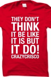 They Don't Think (Crew Neck) Red