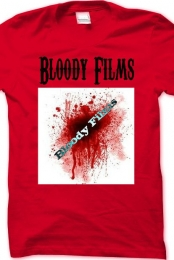 Bloody Films Shirt With Logo Red