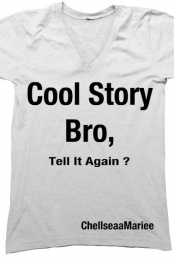 Cool story bro v-neck