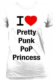 i Love PrettyPunkPoPrincess Men's T-shirt