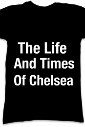the life and times of chelsea black v neck