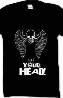 USE YOUR HEAD! shirt