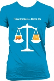 Fishy Crackers and Cheez-Its