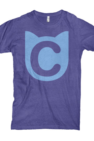 Cat Logo (Purple)