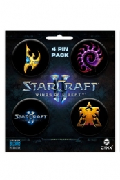 StarCraft II Pin Pack