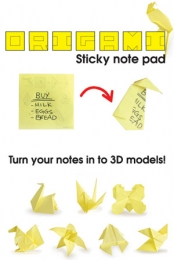 Origami Sticky Notes - Geeky Gifts