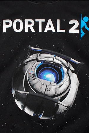 f9bb0323 Portal 2 Wheatley in Space T-Shirt - Portal T-Shirts - Online Store ...