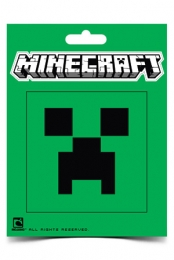 Creeper Face Sticker